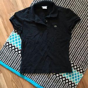 Lacoste Black Polo Shirt